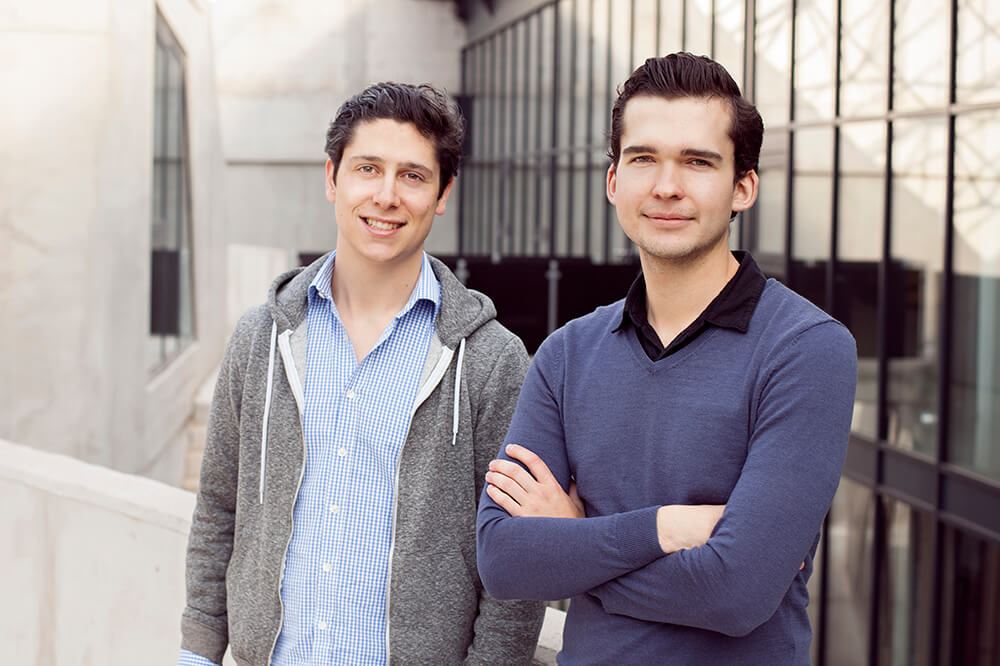 Die beiden Gründer von CHRONEXT