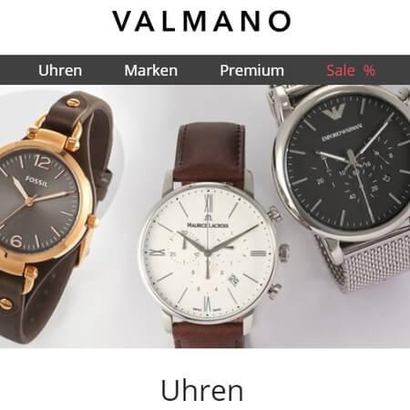Uhren bei Valmano im Bild